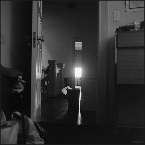 Down Hallway, San Francisco 6/95